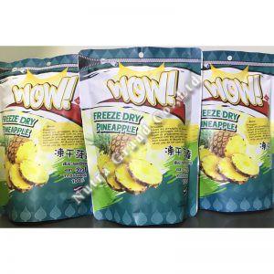 冻干菠萝 泰国零食 进口水果 代工生产
